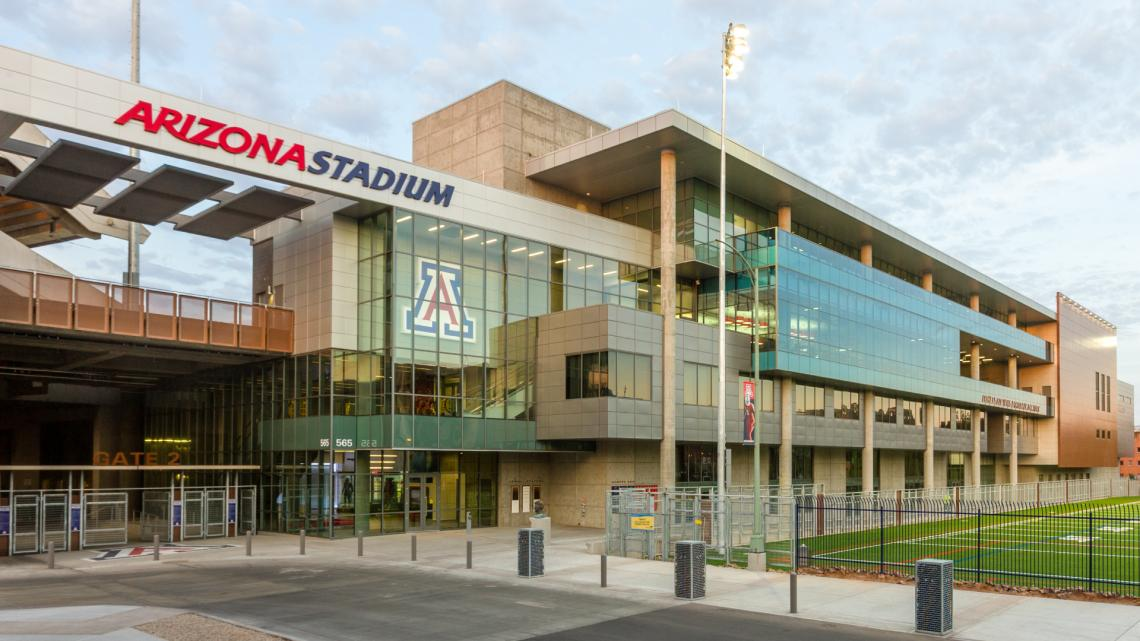 Photo of Arizona Stadium as seen during the day